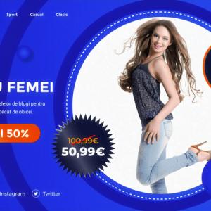Spot Publicitar pentru magazin online articole îmbrăcăminte